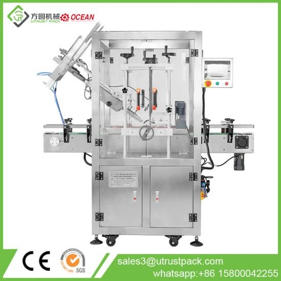 Automatic Press Bottle Cap Capping Machine