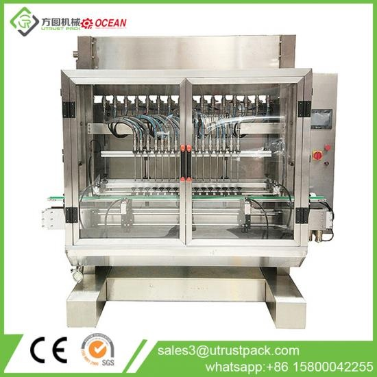 Automatic Coking Oil Bottling Filling Machine
